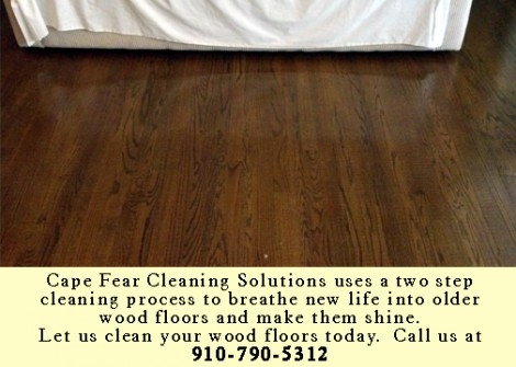 Make your older wood floors shine again wilmington nc for Cape fear flooring