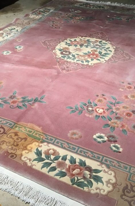 Oriental Rug Carpet Dying Wilmington NC